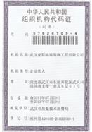 麦斯组织机构代码证