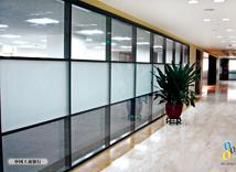 中国工商银行玻璃隔断