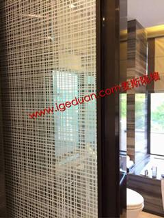 艺术玻璃隔断墙